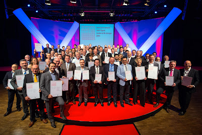 Design as an engine of innovation: award ceremony for the &#8220;Interzum Award: Intelligent Material &amp; Design 2013&#8221;