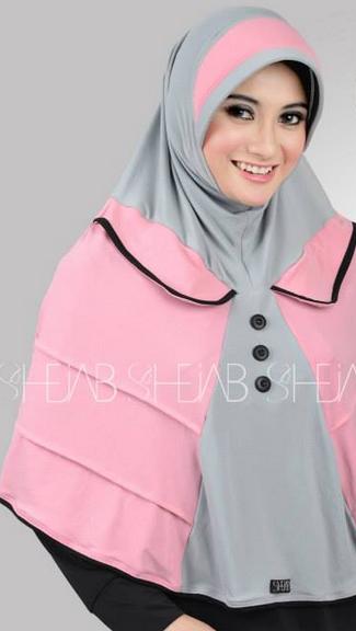 Hijab Modern untuk Pesta Model Baru