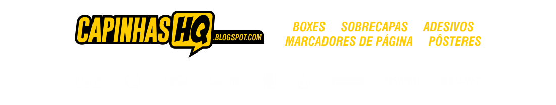 Capinhas HQ - Boxes e Sobrecapas para Quadrinhos