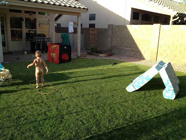 touch of tyrell backyard obstacle course