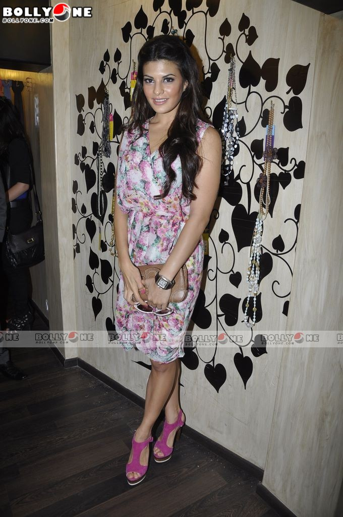 Jacqueline Fernandez at Love From India store launch