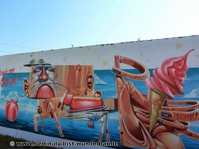 streetart, berlin, kunst, graffiti, street art, weird, hrvb, mural, wandbild