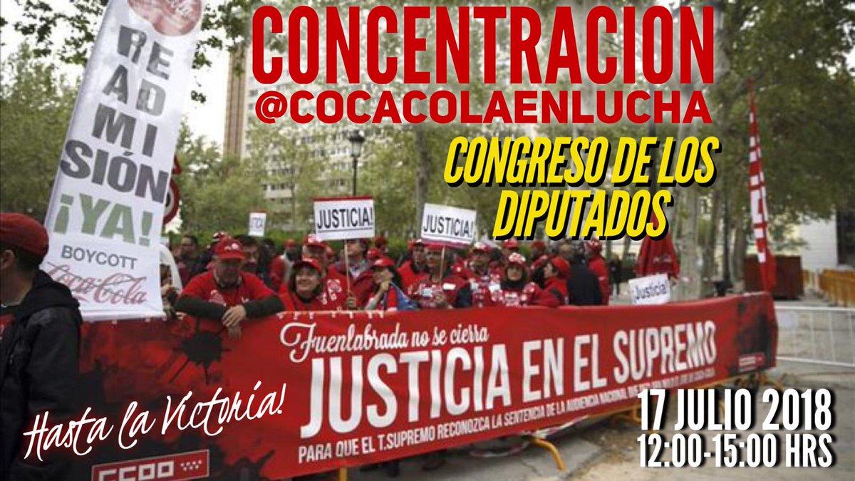 16 julio Coca Cola en Lucha