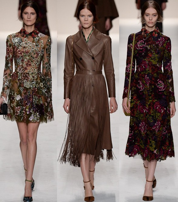 valentino fall 2014 rtw, paris fashion week
