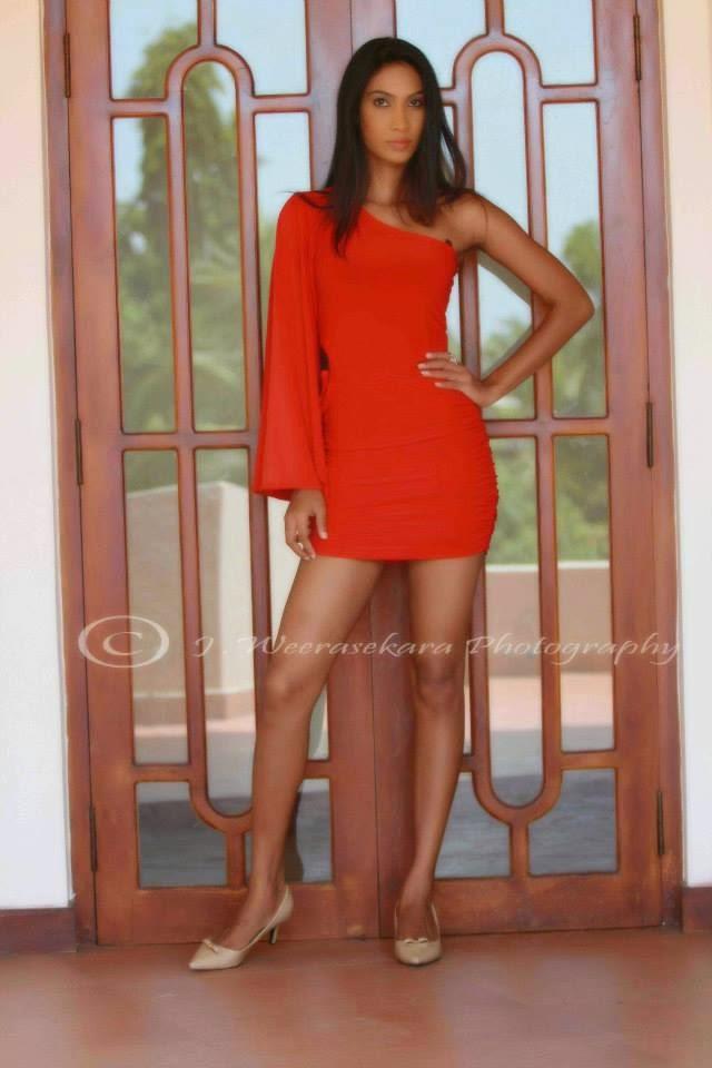 Ishanka De Alwis short dress