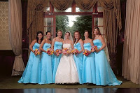 Eleagnt Blue Bridesmaid Dresses