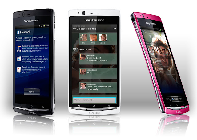 sony xperia arc s colors