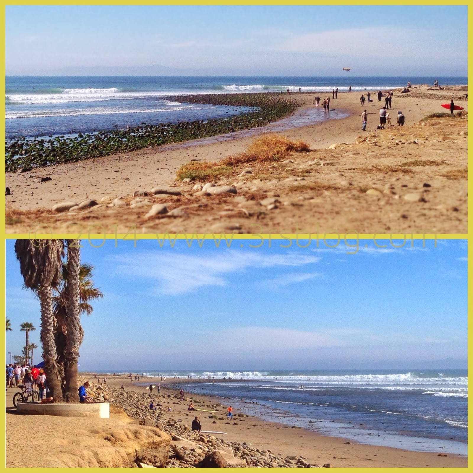 beach collage Ventura 2014