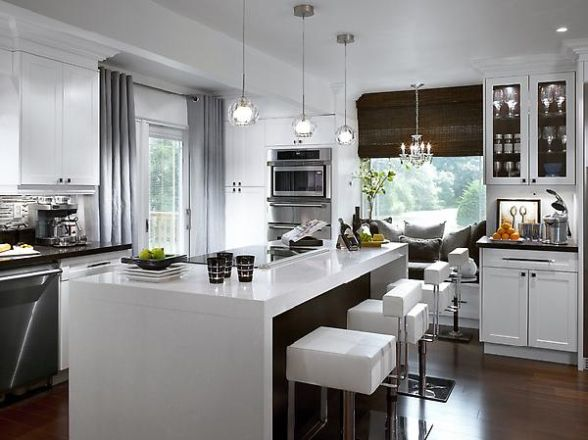 Cabinets for kitchen modern white kitchen cabinets for Kitchen designs modern white