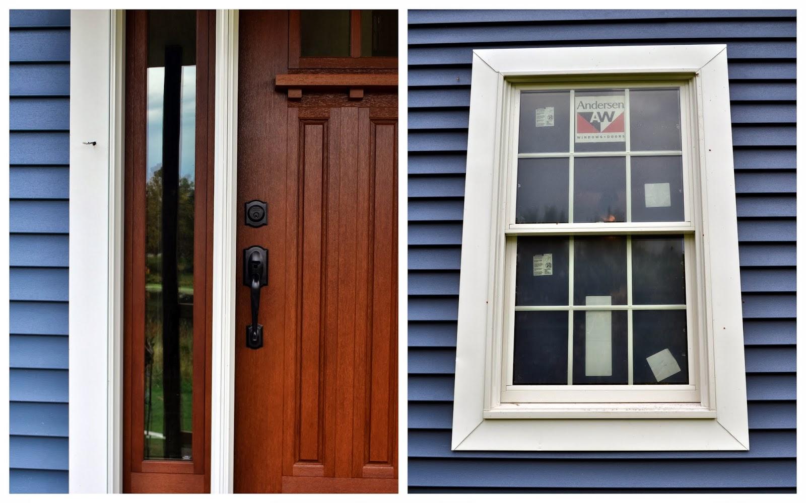 A nurse and a nerd exterior upgrades - Vinyl trim around exterior windows ...
