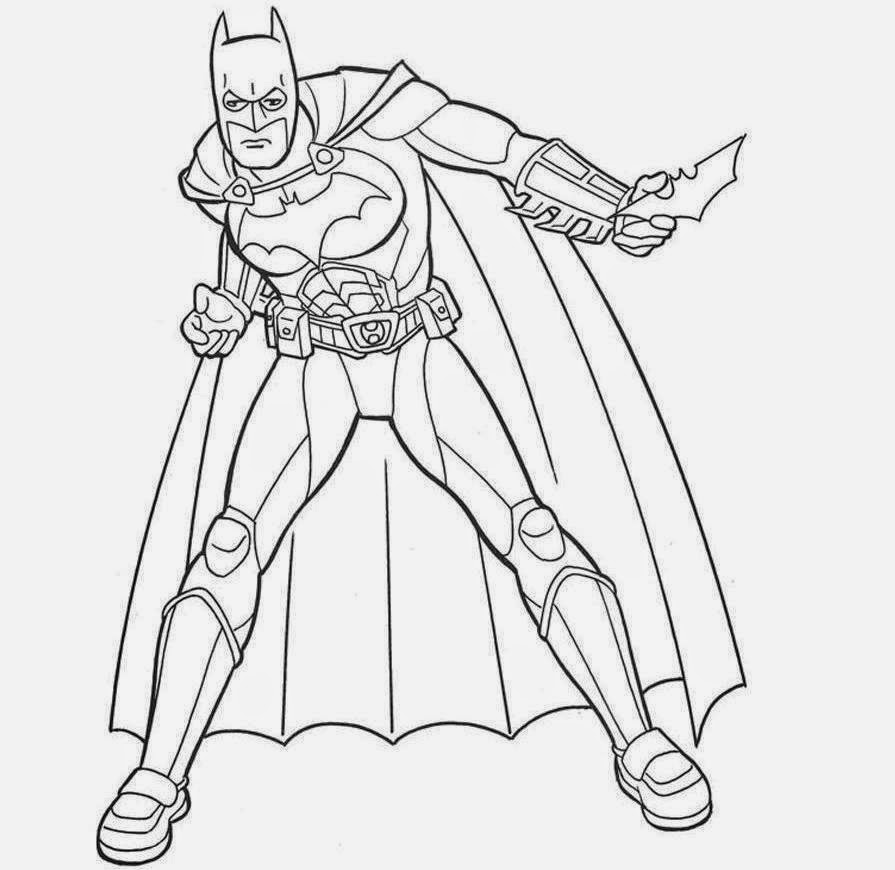 Batman For Kid Coloring Drawing Free wallpaperd