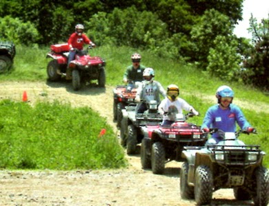 ATV Rides in the Great Smoky Mountains.