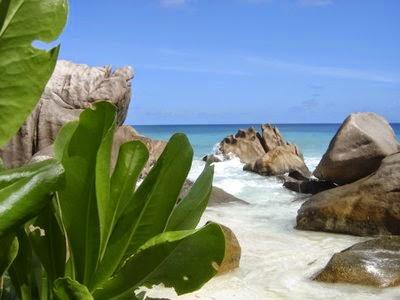 Seychelles : lagon bleu