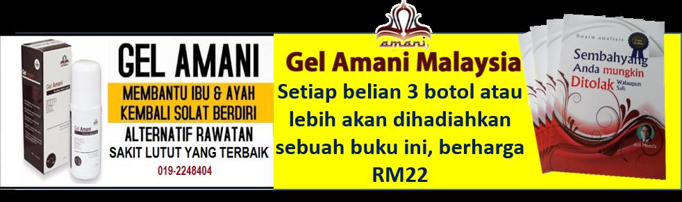 Gel amani penawar sakit lutut dan sendi - Bandar Baru Bangi, Selangor 013 3377 242