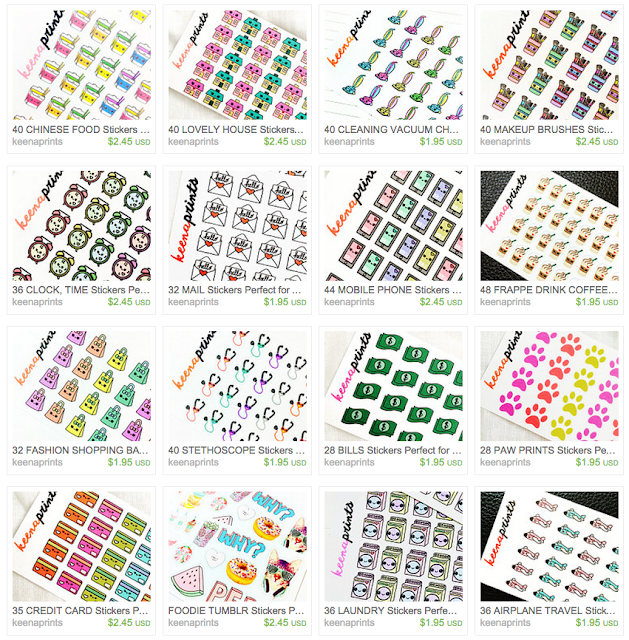 planner stickers cute kawaii daily filofax kikkik journals art drawing sketch doodle precut