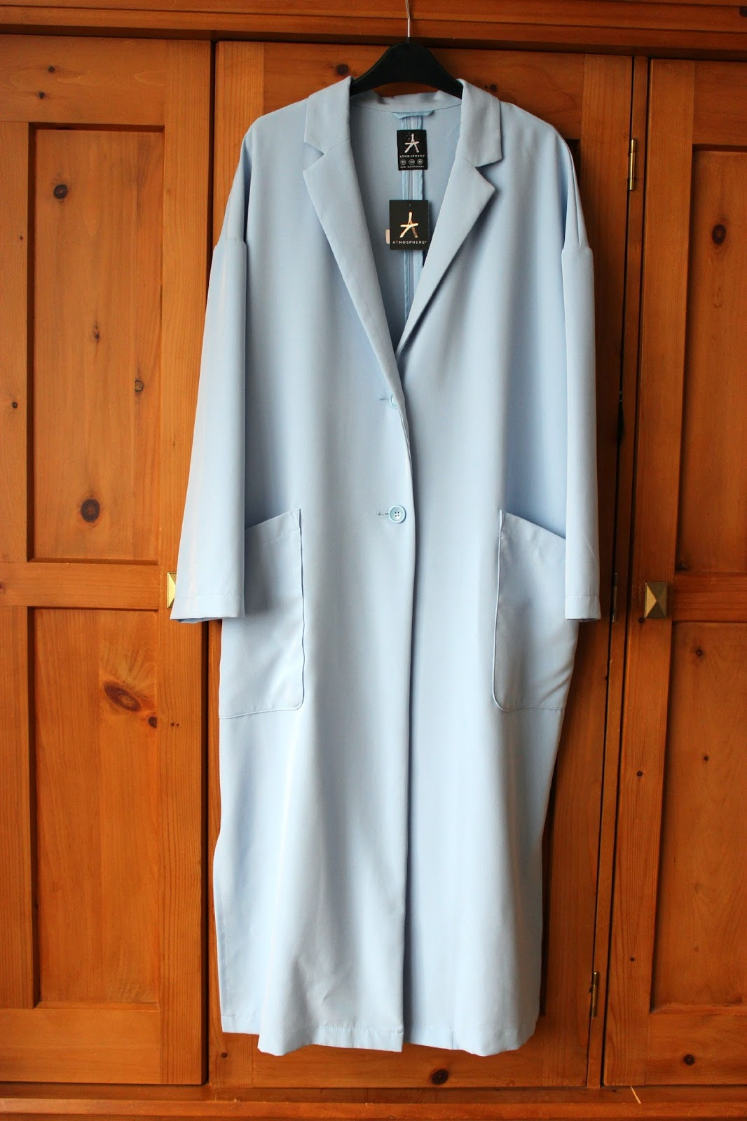 Picture of Primark blue maxi duster coat