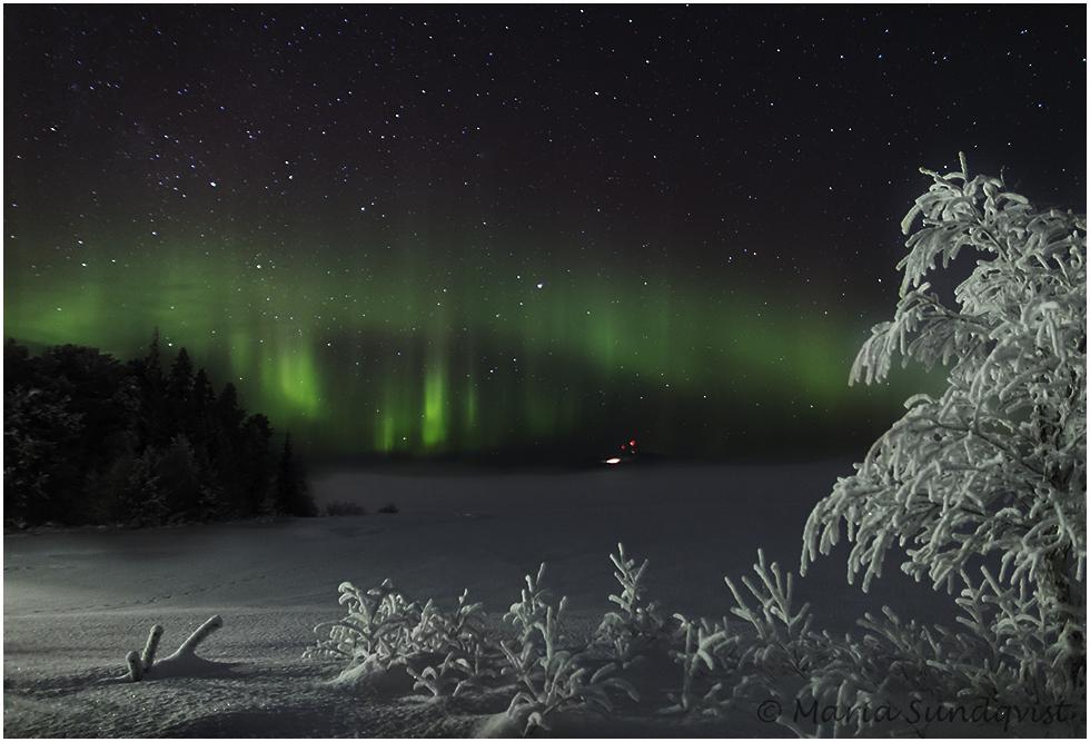 Bildresultat för norrsken vinter