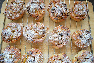Spiced apple fruit Scones