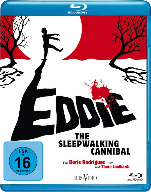 Eddie - The Sleepwalking Cannibal Blu-ray Cover