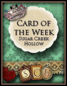 I made card of the week at SCH 3X!
