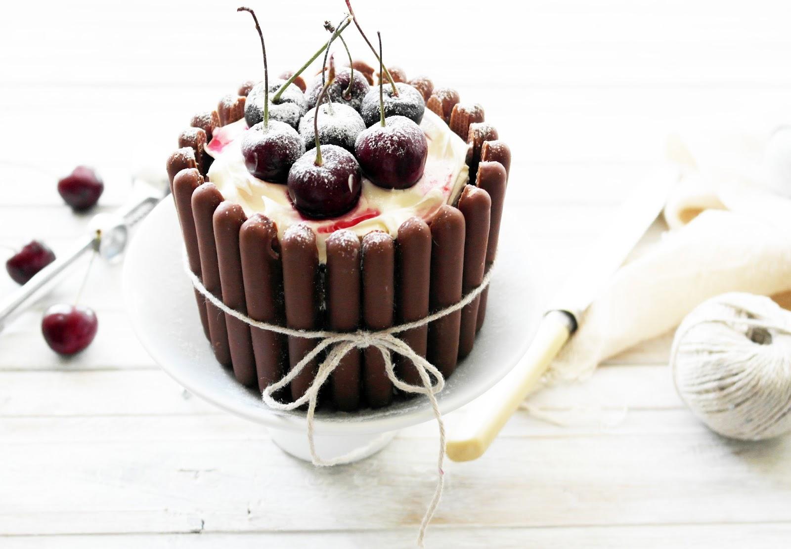 Mini Black Forest Layer Cakes Twigg Studios