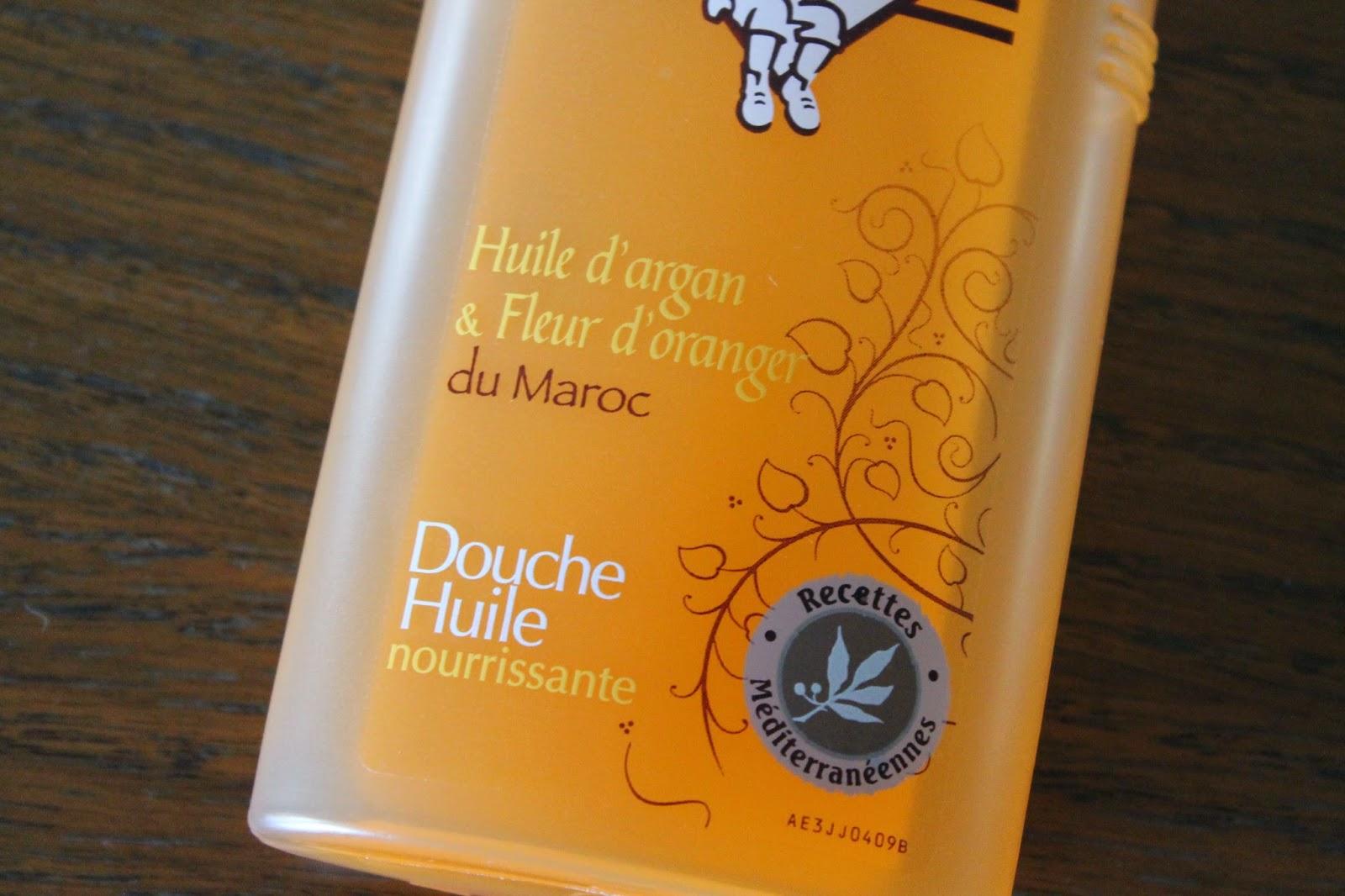 papillonsdonyx blog suisse produits terminés le petit marseillais douche huile