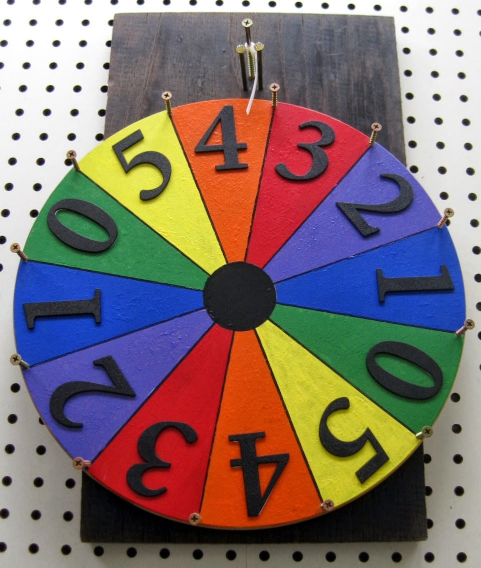a spinning wheel game