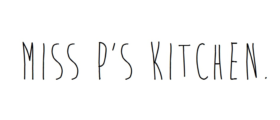 Miss P's Kitchen.