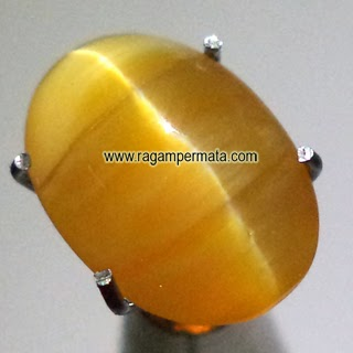 Batu Permata Opal Cat Eye - 060