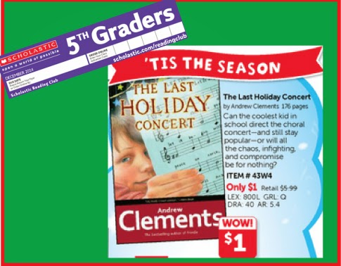 the last holiday concert book report
