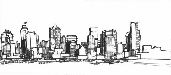 Urban Sketchers Seattle Seattle Skyline