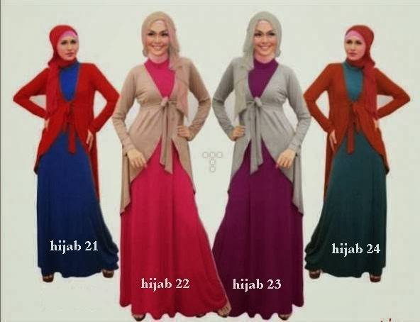 Model Busana Hijab 2014