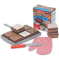 Melissa and Doug Wooden Bake and Serve Brownies