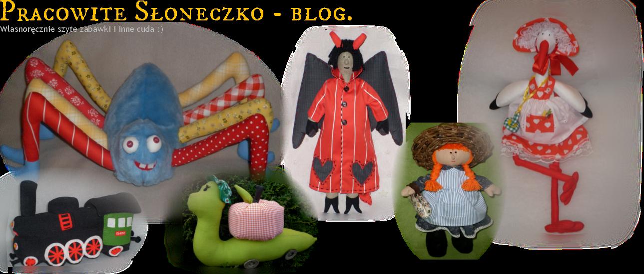 Pracowite Słoneczko - blog.