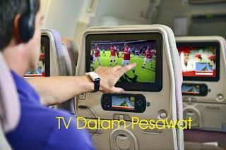 sekarang boleh internetan di pesawat terbang