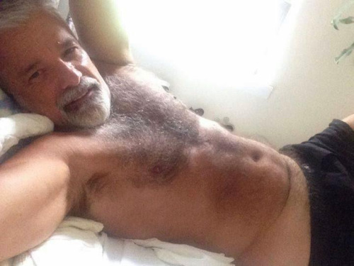 Handsome hairy german daddy
