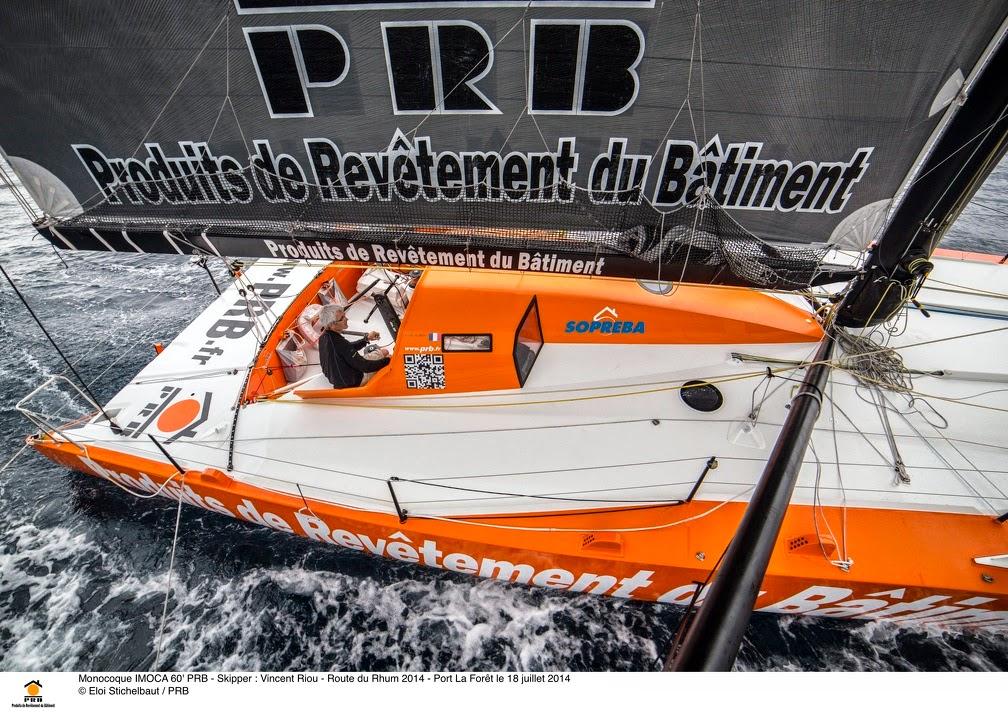Vincent Riou repartira pour un 4e Vendée Globe avec PRB.