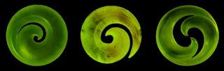 Koru simbolo maori nueva vida crecimiento renovación