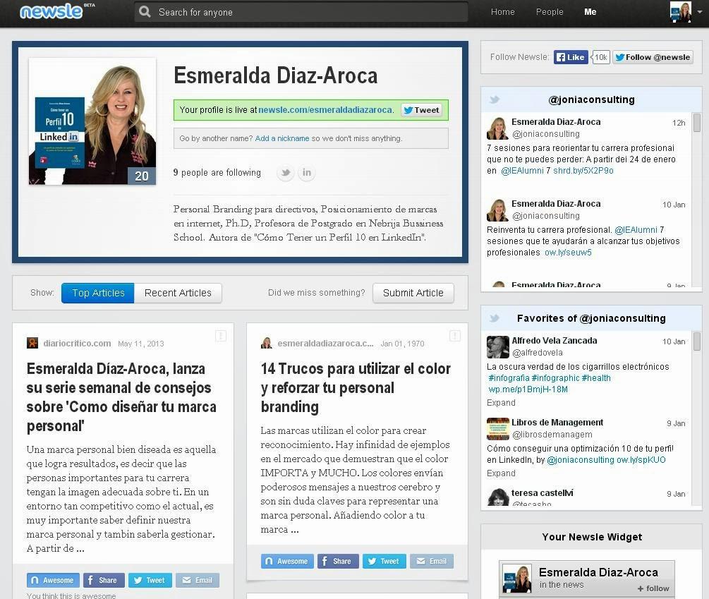 Perfil de Esmeralda Diaz-Aroca en Newsle