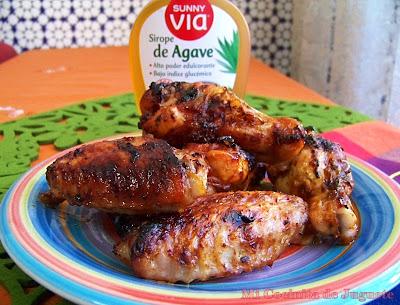 Mi cocinita de juguete alitas con adobo barbacoa casero - Adobo de alitas de pollo ...