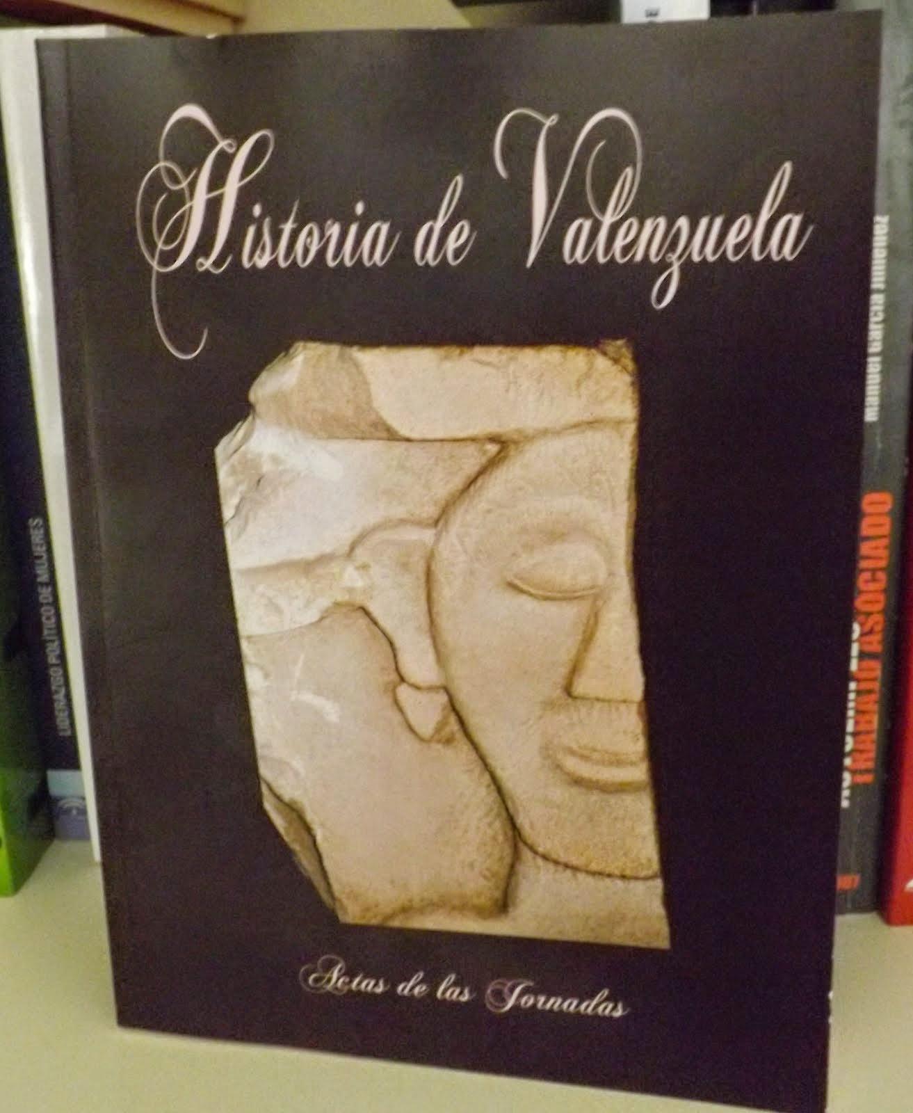 Libro 'Historia de Valenzuela'