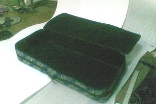 Tas Keyboard Korg PA 500 Batik beludru