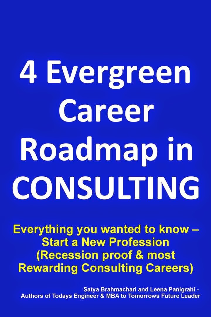 "PRINT BOOK-""4 Evergreen Career Roadmap in Consulting"""