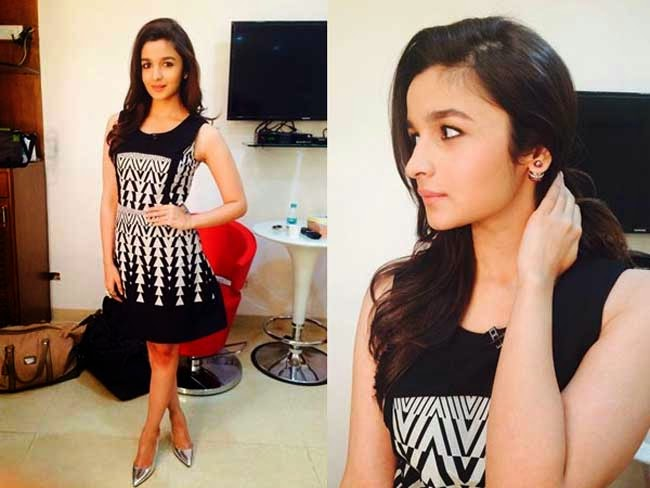 Alia Bhatt in Kenneth Cole