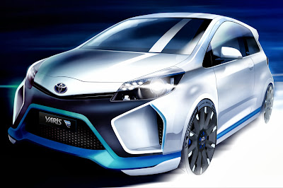 2014 Toyota Yaris Hybrid R Concept
