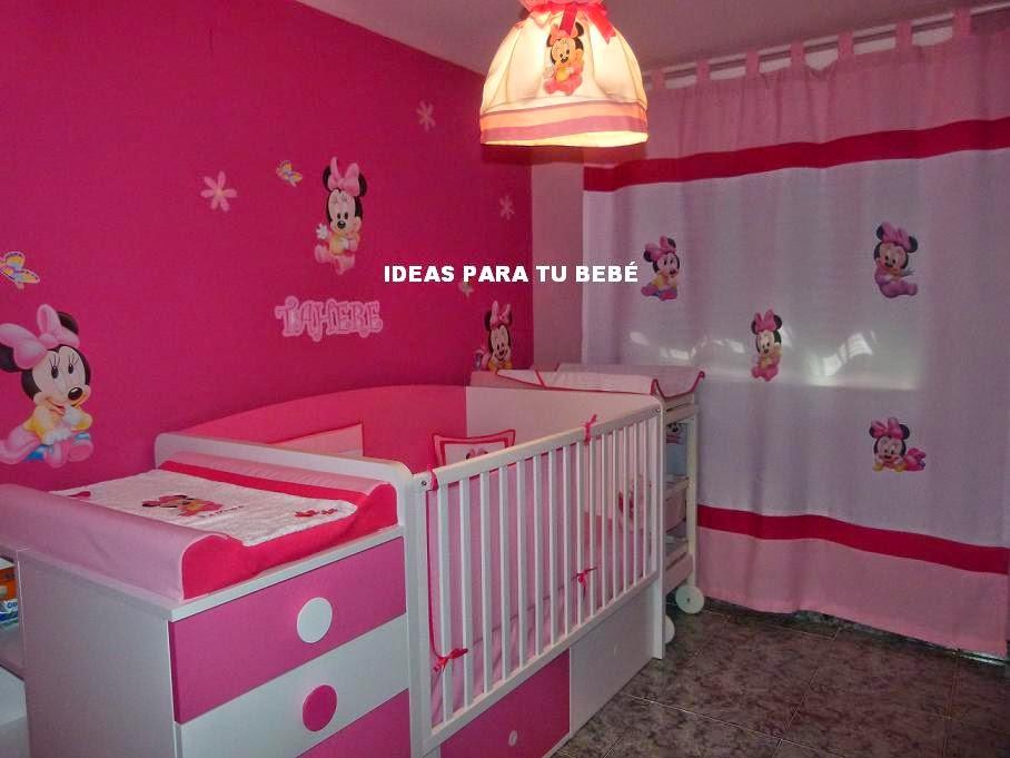 Habitaciones bebe for Cuartos decorados para ninas recien nacidas