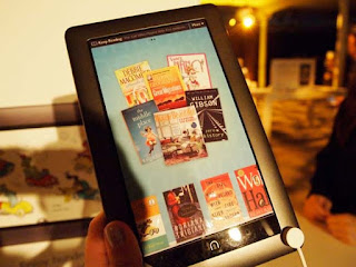 Barnes and Noble Nook Color Photo