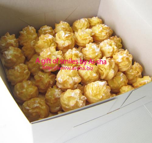 Cream puff Ai-sha Puchong Jaya