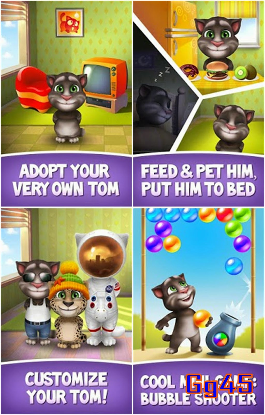 Free Download Talking Tom Hero Dash APK for Android