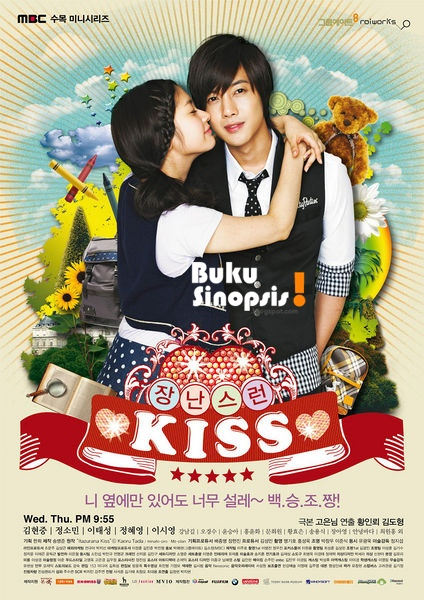 SINOPSIS Naughty Kiss / Playful Kiss Episode 1- 16 Episode Terakhir